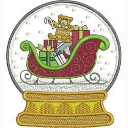SNOW BALL CHRISTMAS SLEIGH CHRISTMAS
