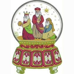 BALL CHRISTMAS 3 WISE MEN