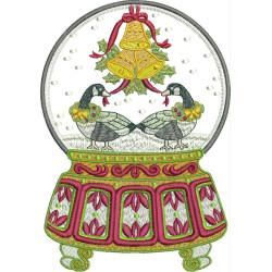 SNOW BALL CHRISTMAS OF DUCKS CHRISTMAS