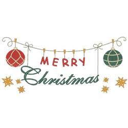 CLOTHESLINE MERRY CHRISTMAS 2