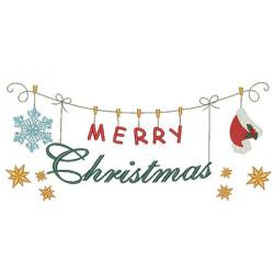 CLOTHESLINE MERRY CHRISTMAS 3