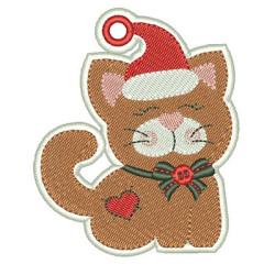 CHRISTMAS ORNAMENT KITTEN