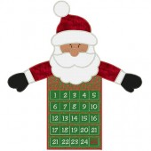 ADVENT CALENDAR PROJECT WITH SANTA CLAUS