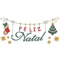 CLOTHESLINE FELIZ NATAL 4 - PT