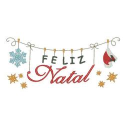 CLOTHESLINE FELIZ NATAL 5 -PT