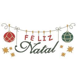 CLOTHESLINE FELIZ NATAL 6 -PT