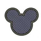 MICKEY WITH APPLICATION IN TISSUE