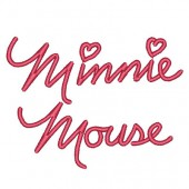 MINNIE MOUSE WRITING 9 CM