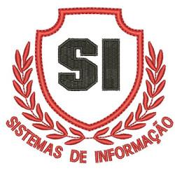 ESCUDO SISTEMAS DE INFORMAÇÕES ESCUDOS DE FORMATURA
