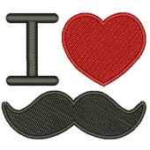 I LOVE MUSTACH