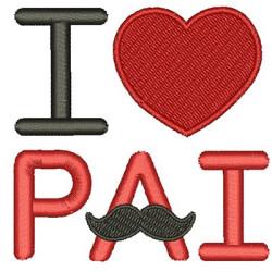 I LOVE PADRE MUSTACHE