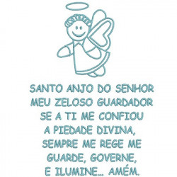 ORACIÓN SANTO ANGEL 18x13 PT