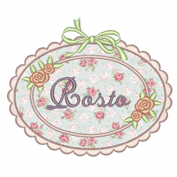 RAME WITH APPLIQUE - ROSTO