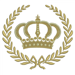 BRANCH WITH CROWN 19 CM CROWNS