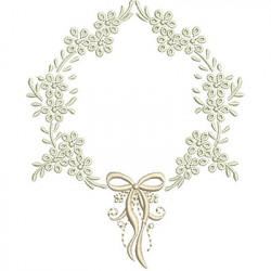 FRAME WITH LACE 10 CM BAPTIZED FRAMES