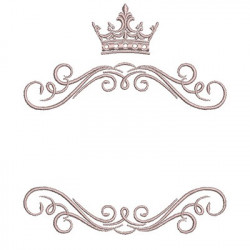 ARABESQUES WITH CROWN 2