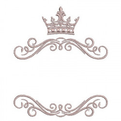 ARABESQUES WITH CROWN 3