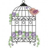 BIRD CAGE WITH 10 CM