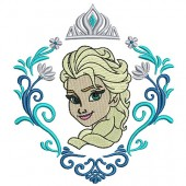 FRAME ELSA WITH CROWN