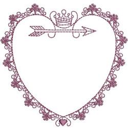 FRAME IN HEART 10 CM