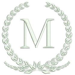 MONOGRAM LETTER M FRAMES & MONOGRAMS