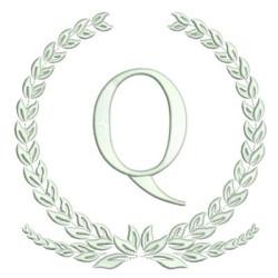 MONOGRAMA LETRA Q