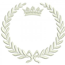 LETTER TO EMPTY FRAME FRAMES WITH CROWNS