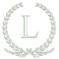 MONOGRAM LETTER L FRAMES & MONOGRAMS