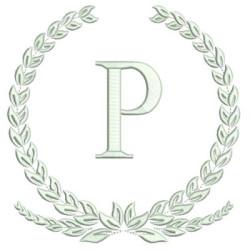 MONOGRAM LETTER P FRAMES & MONOGRAMS