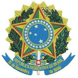 REPÚBLICA FEDERATIVA ESCUDO COMPLETO BRAZILIAN PUBLIC GOVERMENT