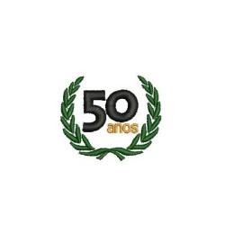 SELO 50 ANOS SELLOS Y PLACAS