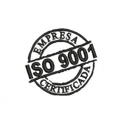 ISO 9001 EMPRESA CERTIFICADA STAMPS AND PLATES