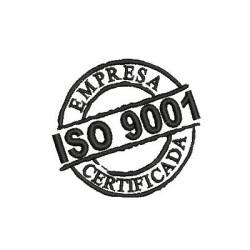 ISO 9001 EMPRESA CERTIFICADA SELOS E PLACAS