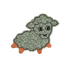 APPLIQUE LAMB ANIMALS