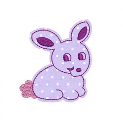 BUNNY APPLIQUE CHILD