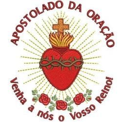 APOSTOLADO DA ORAÇÃO 11 CM APOSTOLADOS