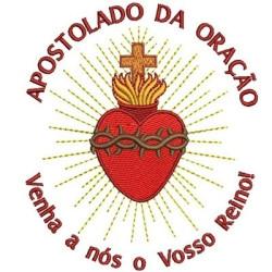 APOSTOLADO DA ORAÇÃO 11 CM SEM FLORES APOSTLESHIP