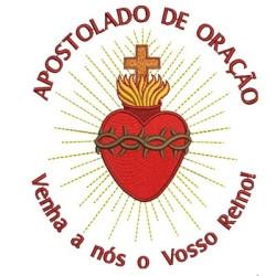 APOSTOLADO DA ORAÇÃO 15 CM SEM FLORES