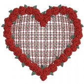 GARLAND OF ROSES IN THE HEART CHESS