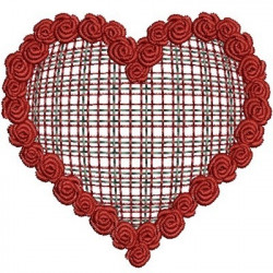 GARLAND OF ROSES IN THE HEART CHESS 2 HEARTS