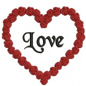 GARLAND OF ROSES LOVE