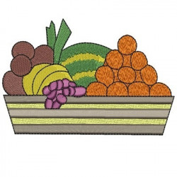 FRUIT BASKET LARGE FOOD