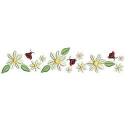 FLOWERS AND LADYBUGS CORNERS