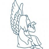 ANGEL SEATED LOWER