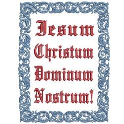 IESUM CHRISTUM RELIGIOUS