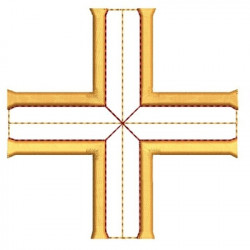 MALTESE CROSS 12 CROSS