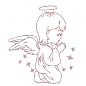 LITTLE ANGEL PRAYING