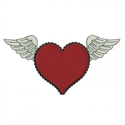 HEART WITH WINGS HEARTS