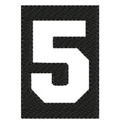 NÚMERO 5 COMPLETADO 6 CM