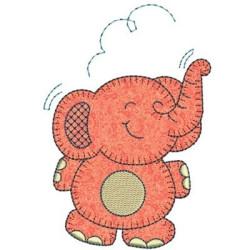 ELEPHANT APPLIQUE ANIMALS